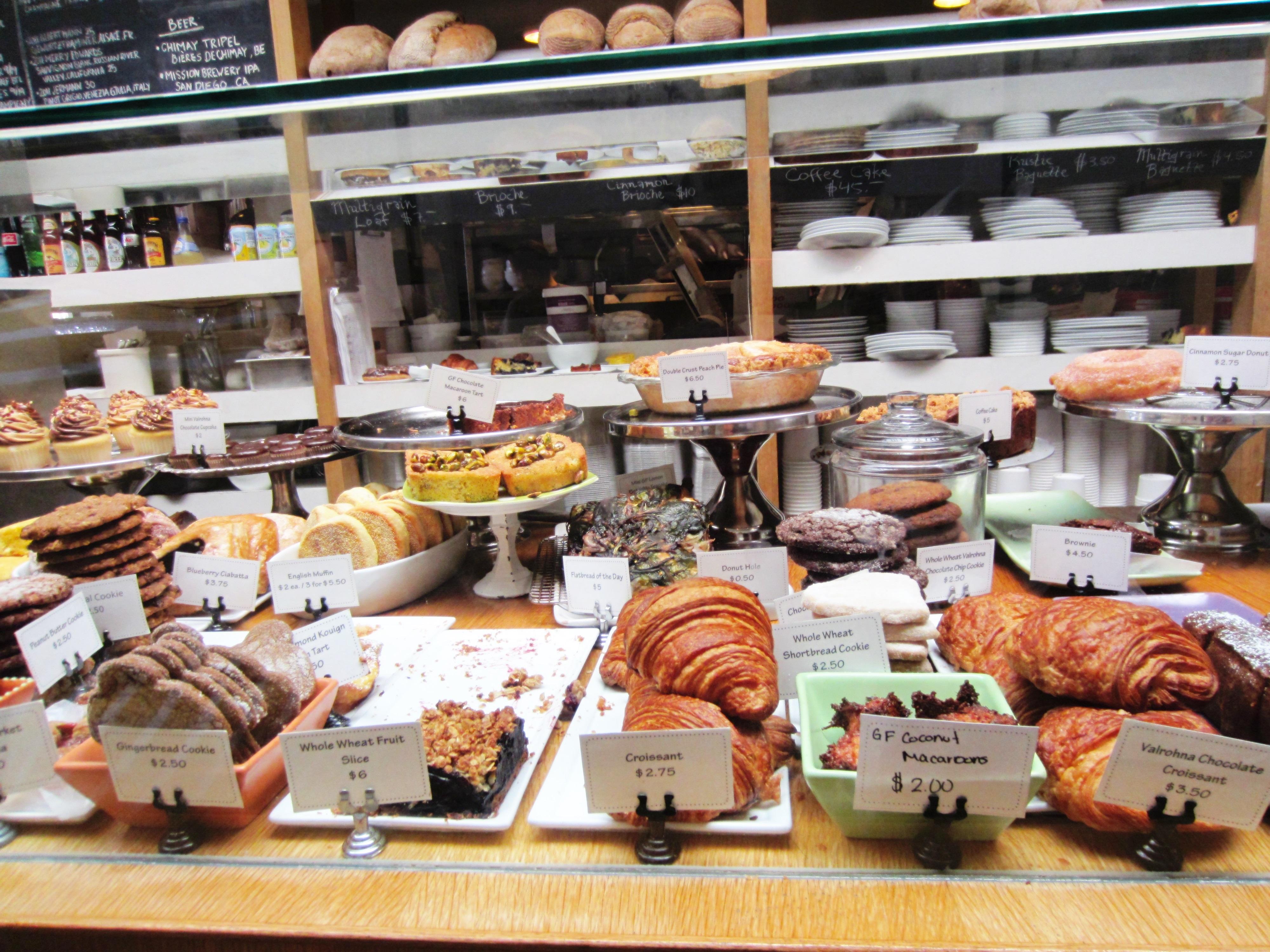 Huckleberry Bakery Cafe Blueberry Cornmeal Cake