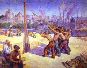 maximilien-luce-the-pile-drivers-quai-de-la-seine-at-billancourt
