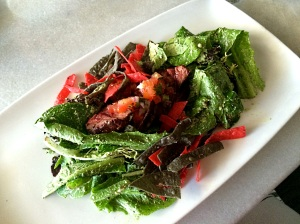 steak salad little sparrow