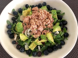 blueberry tuna salad